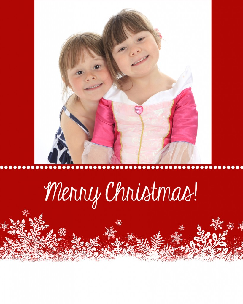 megan&lucy xmascard