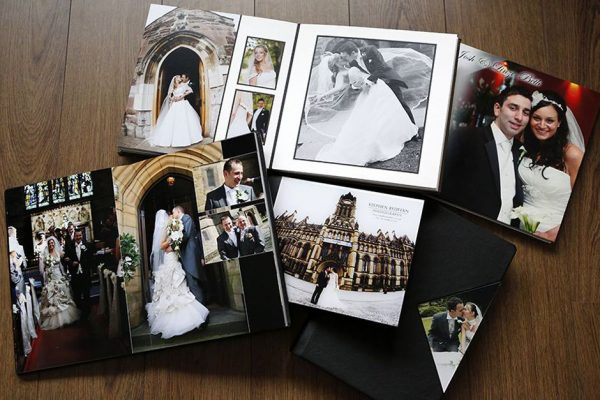 Wedding albums for photography packages